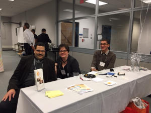 LLA Executive Board members working the registration table Networking with a VISION